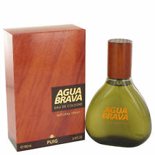 AGUA BRAVA BY ANTONIO PUIG-COLOGNE FOR MEN-SPRAY-3.4 OZ-100 ML-AUTHENTIC-SPAIN