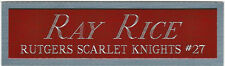 RAY RICE RUTGERS NAMEPLATE FOR AUTOGRAPHED SIGNED FOOTBALL HELMET JERSEY PHOTO