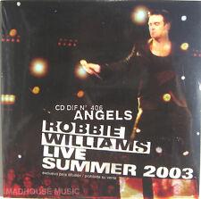 ROBBIE WILLIAMS CD Angels LIVE ! ARGENTINA PROMO Rare SEALED
