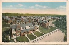 Model Village Marcus Hook PA Near Chester PA Postcard