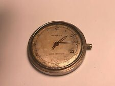 VINTGAE BENRUS MILITARY MEN'S WIND-UP WRISTWATCH BH 11 FOR PARTS OR RESTORATION