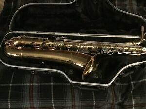 Selmer USA Baritone Saxophone W Original Neck + SKB Case W Wheels