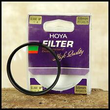 58mm Hoya +4 close up MACRO filter - insects coins Canon Nikon Sony Digital Lens