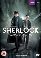 SHERLOCK BBC TV Series Complete Season 2 DVD Collection+Extras Original HOLMES