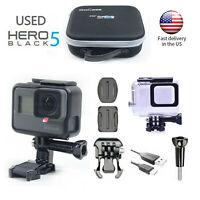 GoPro HERO 5 Black Action 4K Ultra HD Touch Screen + Waterproof case