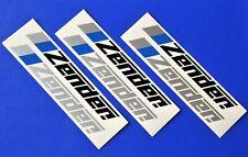 6 ZENDER Aufkleber Sticker Schriftzug Tuning Styling Design Golf Polo Opel VW