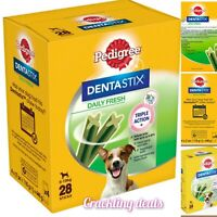 Pedigree Dentastix Fresh Daily Adult Small Dog Dental Treats 28 Sticks 440g