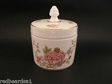 Royal Doulton Canton Vintage Bone China Lidded Vanity Jar Pot c1960s H4802 AF