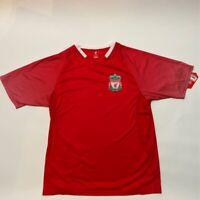 Liverpool Football Club Mens Jersey Red Short Sleeve V Neck XL
