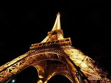 PHOTO EIFFEL TOWER LOOKING UP PARIS LARGE WALL ART PRINT POSTER PICTURE LF2267