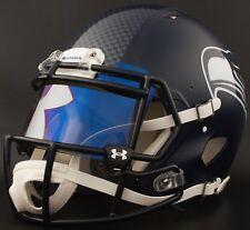 c0580f91 ***CUSTOM*** SEATTLE SEAHAWKS Full Size NFL Riddell SPEED Football Helmet