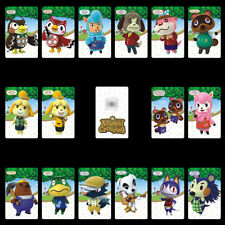 Animal Crossing Series 16PCS PVC NFC Tag Game Cards for Switch/Wii U/3DS