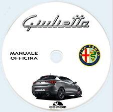 Manuale Officina Alfa Romeo (940) Giulietta 2010