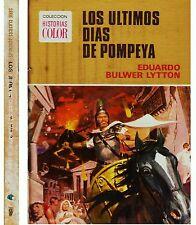 HISTORIAS COLOR: CLÁSICOS JUVENILES nº 11 ÚLTIMOS DÍAS DE POMPEYA Bruguera 1973
