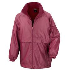 Unisex Result Core Micro Fleece Lined Jacket 3xl Burgundy Rs203m-bur-3xl