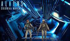 "Custom Aliens Diorama ""ALIENS WEYLAND COLONY"" for NECA Aliens Figures 6"" Scale"