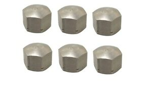 OIL SUMP NUT SET OF 6 VW BUG BUS GHIA TYPE 3  6MM (QTY 6) N110624