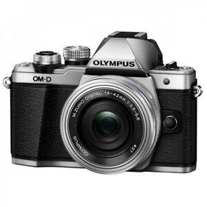Olympus OM-D E-M10 17.2 MP Digital SLR Camera - Silver