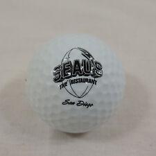 Golf Ball Seau's Restaurant San Diego Jr. Seau Football Player