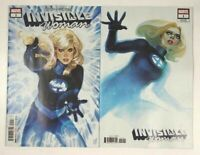 Invisible Woman #1 2 Comic Lot (Marvel 2019) Hans Variant