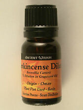 a - F Essential Fragrant Oils in 10ml Bottles Frankincense Dilute Oil