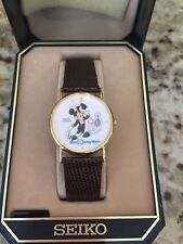 Seiko Disney World Mickey Mouse watch
