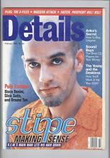 DETAILS US MAGAZINE FEB 1995 R.E.M. MICHAEL STIPE MASSIVE ATTACK MEN'S FASHION