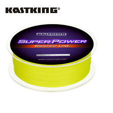 KastKing SuperPower Braided Fishing Line for Bass Fishing 328-Yards/50LB -Yellow