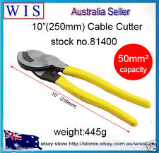 """10""""(250mm) Cable Cutting Pliers,Copper Aluminium Wire Cutter Pliers Up to 50mm2"""