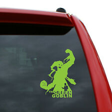 "Green Goblin Vinyl Decal | Color: Lime Green | 5"" tall"