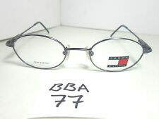 New TOMMY HILFIGER Eyeglass Frame Metal TH2001 BL Black Unisex (BBA-77)