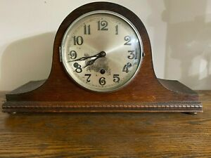 "Vintage Haller Westminster/Whittington Chime Mantle Clock 16 1/2"" x 9"" x4 1/2"""