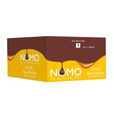 Nomo Caramel Filled Vegan Chocolate Bar 38g Dairy Gluten Egg & Nut Free 24 Case