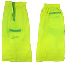 Miken Microfiber Shorts VOLT/NEON GREEN 2XL
