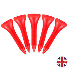 Masters Strong Plastic Golf Tees Choose Quantity Deals Straight Graduated Castle