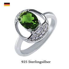 Echte Edelstein-Ringe mit Briolett für Jahrestag
