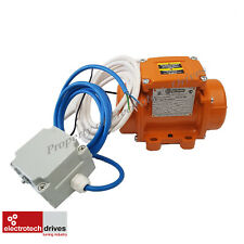 Vibtec Vibrator Motor MVSI3/200-S02 Single Phase 240V With Cables and Capacitor
