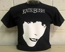 Kate Bush Negro T-Shirt