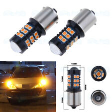 No Hyper Flash Amber 7507 PY21W LED Turn Signal Light For 2018 2019 Honda Accord