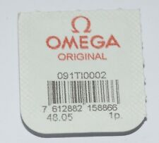 Omega Crown/Valve Gasket - Titanium - New Genuine Original Part - 091TI0002