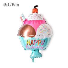 hamburger doughnut cake foil balloons birthday party decor supplies balloons GT