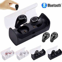 Mini TWS Twins Wireless Bluetooth Stereo Headset In-Ear Earphone Headphone UK