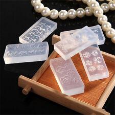 Cute DIY Nail Art Tips 3D UV GEL Acrylic Powder Silicone Mould Set Nail Design