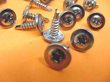 "GM 20 Chrome Self Tapping Screws #8x9/16"" Wheel Well Moulding Low Profile NOS"