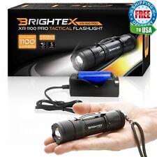 #1 Brightest Brightex XR-1100 Small Powerful Tactical Light Flashlight 18650 Kit
