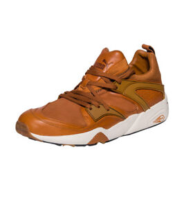 Puma Men's Shoes Blaze Of Glory Trinomic NL Leather Sneakers 359312-03 Sz: 10~12