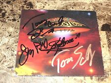 Boston Band Signed CD Life, Love & Hope Tom Scholz Tommy DeCarlo Gary Phil & Kim