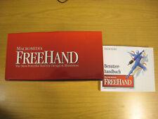 Grafikprogramme Macromedia Freehand