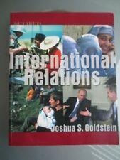 INTERNATIONAL RELATIONS FIFTH EDITION - JOSHUA GOLDSTEIN - SC -VGC