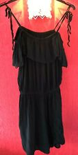 Woman's : Dress : Size UK 14 : Papaya : Holiday : Black